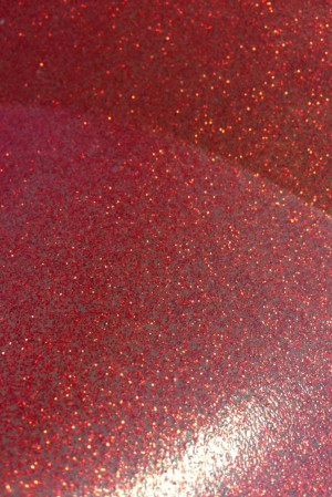 Yummy Gummy Latex Red Glitter Latex