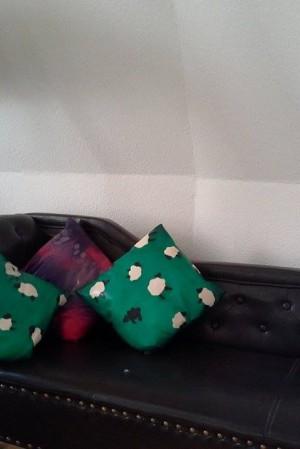 Yummy gummy Latex Sheep cushions