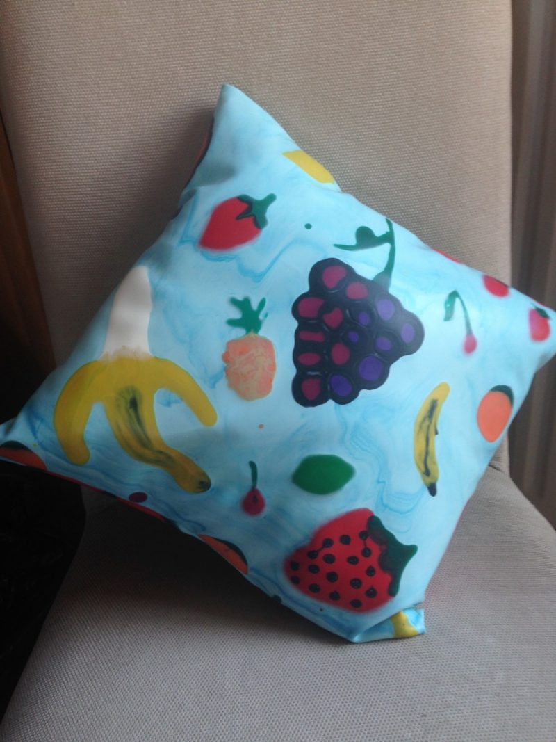 Yummy gummy Latex Fruit cushions