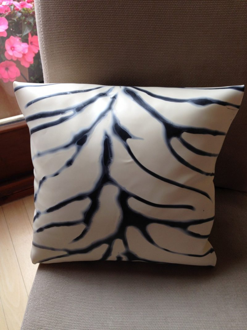 Yummy gummy Latex Zebra cushions