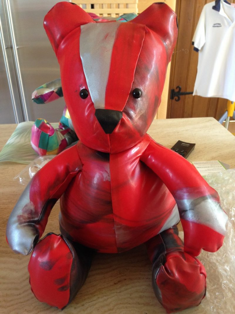 Yummy Gummy Latex Medium Latex Teddy bear