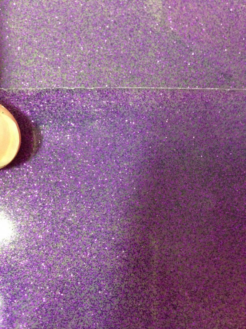 Yummy Gummy Latex Purple Glitter Latex