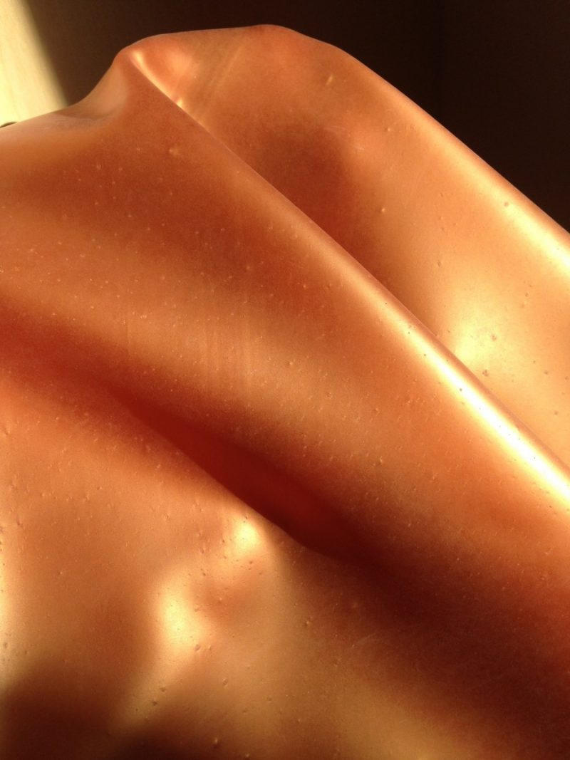 Yummy gummy latex Bronze latex