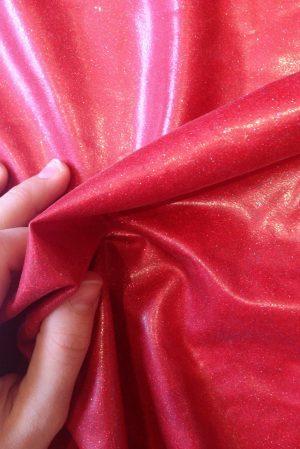 Red glitter latex