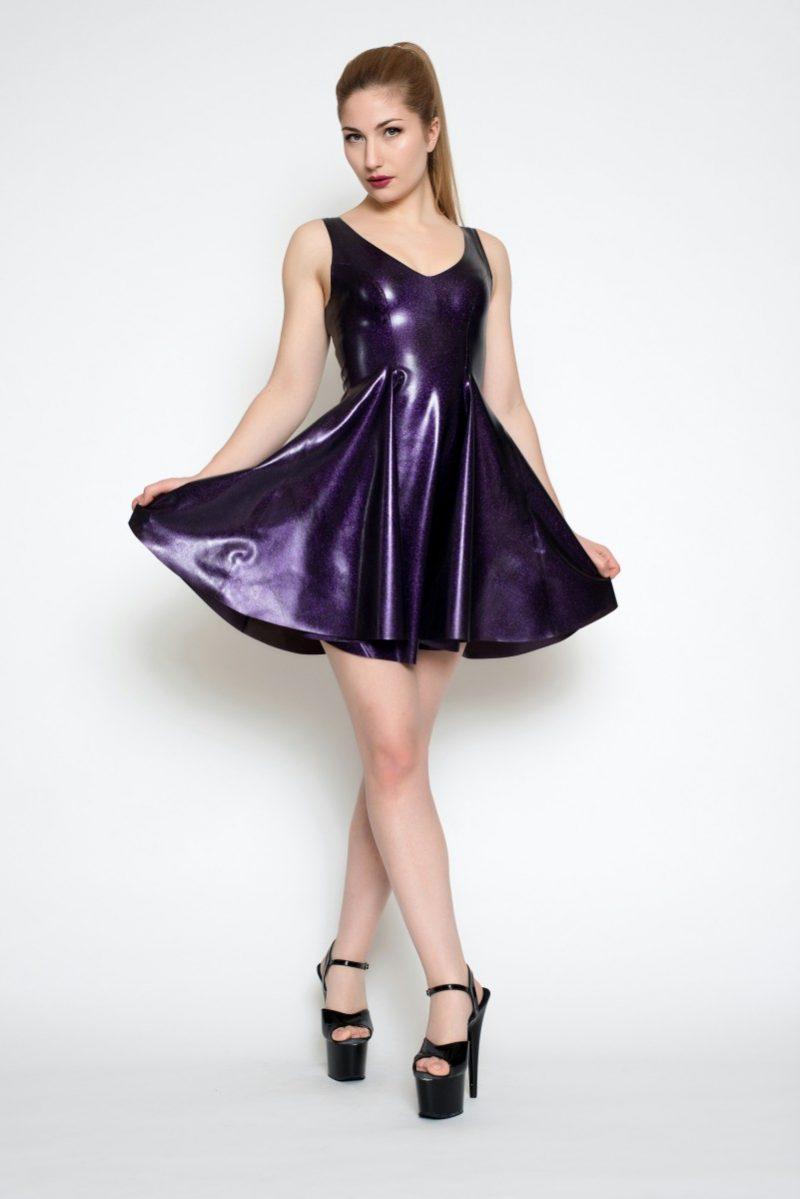 Yummy Purple Obsidian in the Skate Dress