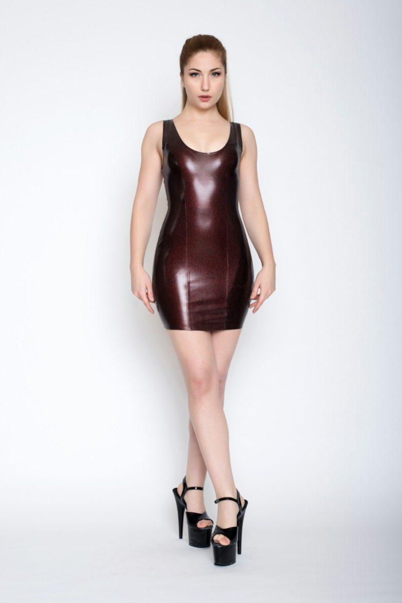 Yummy Red Obsidian Short dress