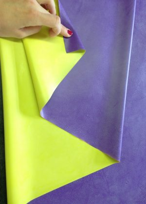 Yummy Gummy Latex Double sided latex Yellow and Purple