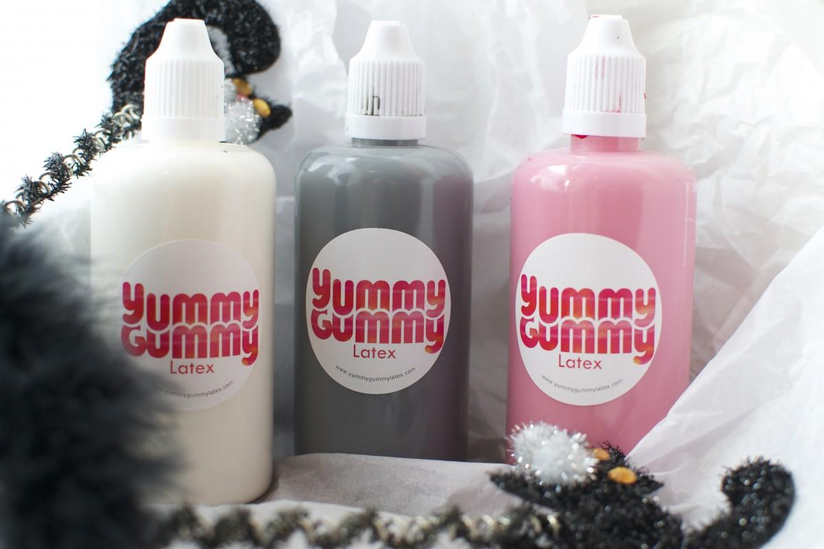 Liquid Latex SFX Body/ Face paint Halloween Blood Pack | Yummy Gummy