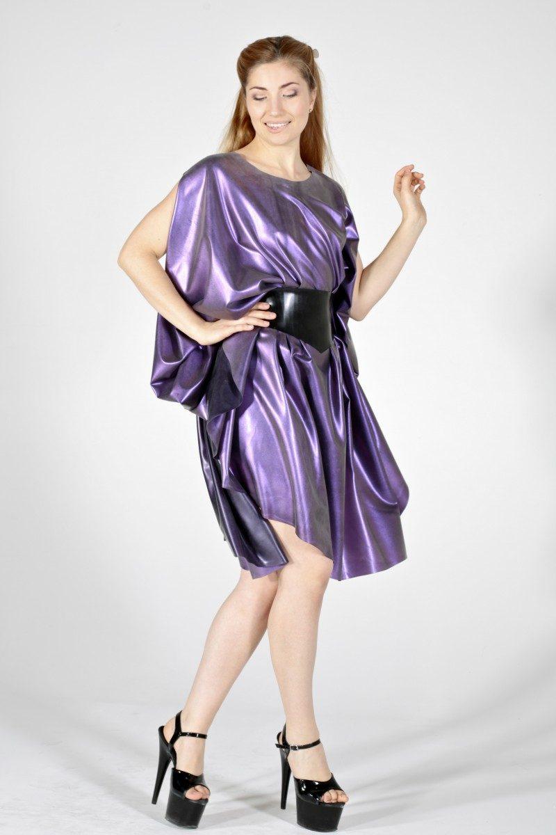 Purple with purple colour change multiway dress / skirt